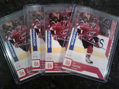 Ted Enarson - Carolina Hurricanes Alumni Game Custom Trading Cards