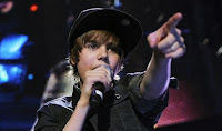 Justin Bieber, technology, and pointing: it doesn't get any more relevant than that
