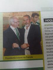 PRESIDENTE GODINHO VEIO À GALA DO HP SCP!