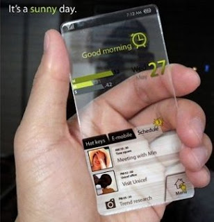 Konsep-Konsep Handphone / Smartphone masa depan