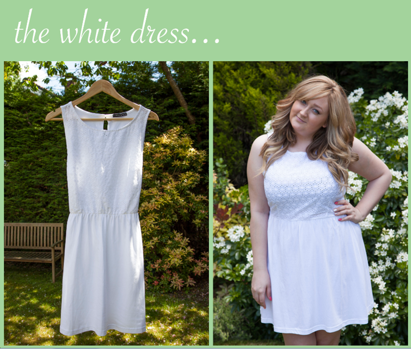White Summer Primark Dress