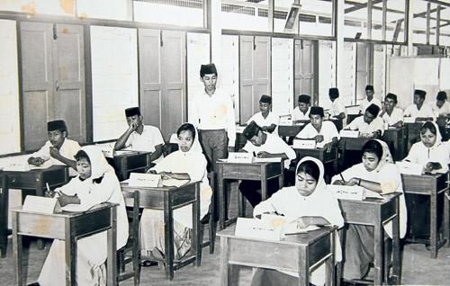 Soalan Bocor - sekolah zaman dulu