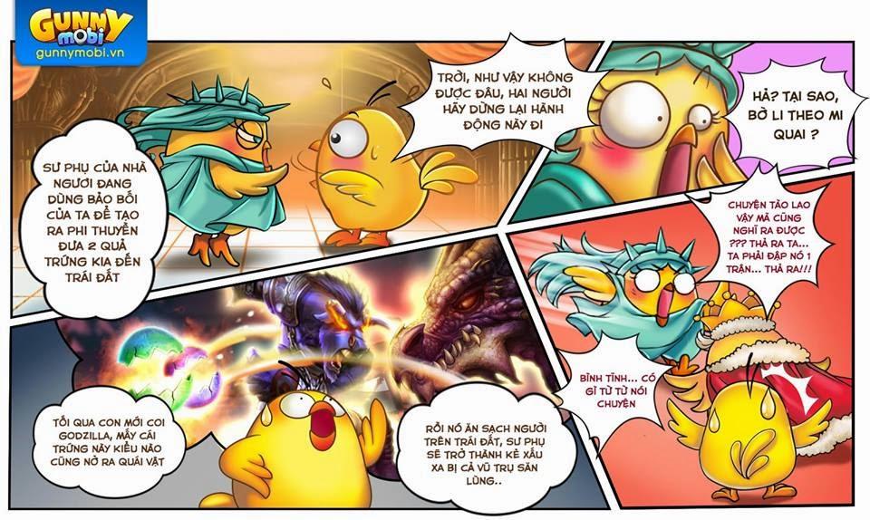 Gunny mobi truyền kỳ Chương 4: Lên đường phần 3