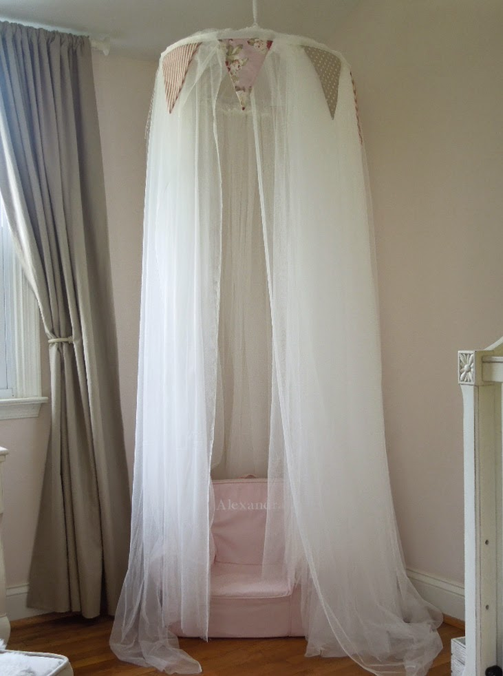 No-Sew Play Canopy