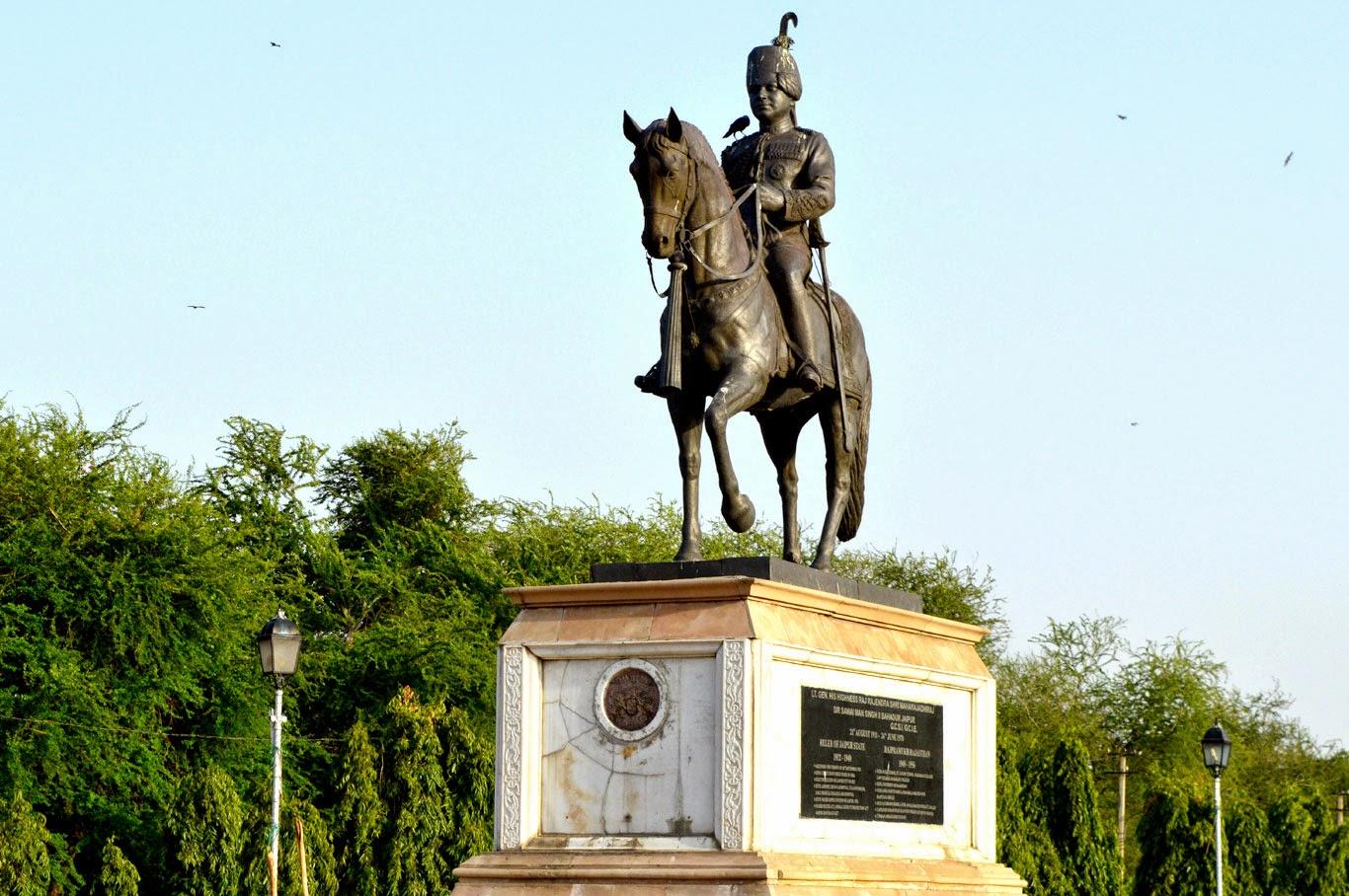 Sir Sawai Man Singh Statue