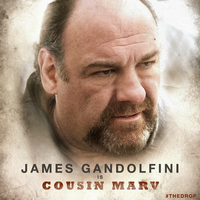 the drop james gandolfini is cousin marv