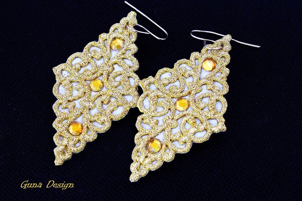 gunadesign guna andersone Oriental Lace Earrings