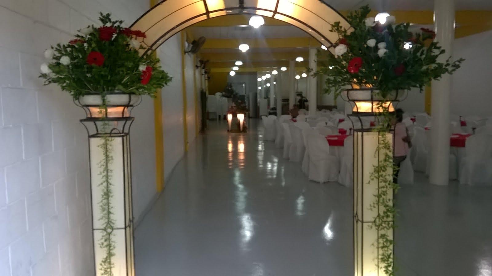Arco de Entrada de Casamento