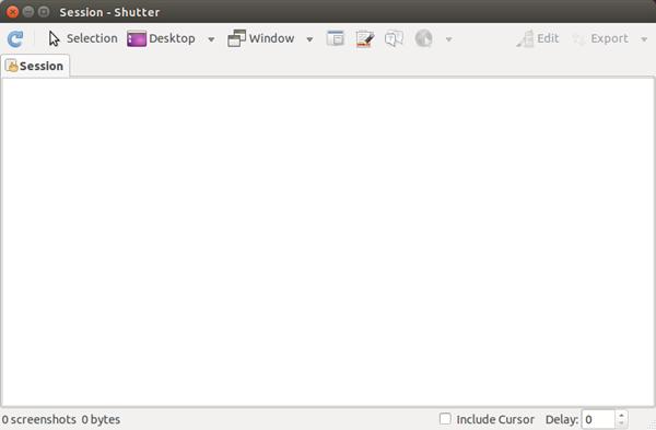 Cara Screenshot menggunakan Shutter di Ubuntu