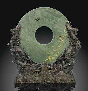 Qianlong Spinach Green bi Disk