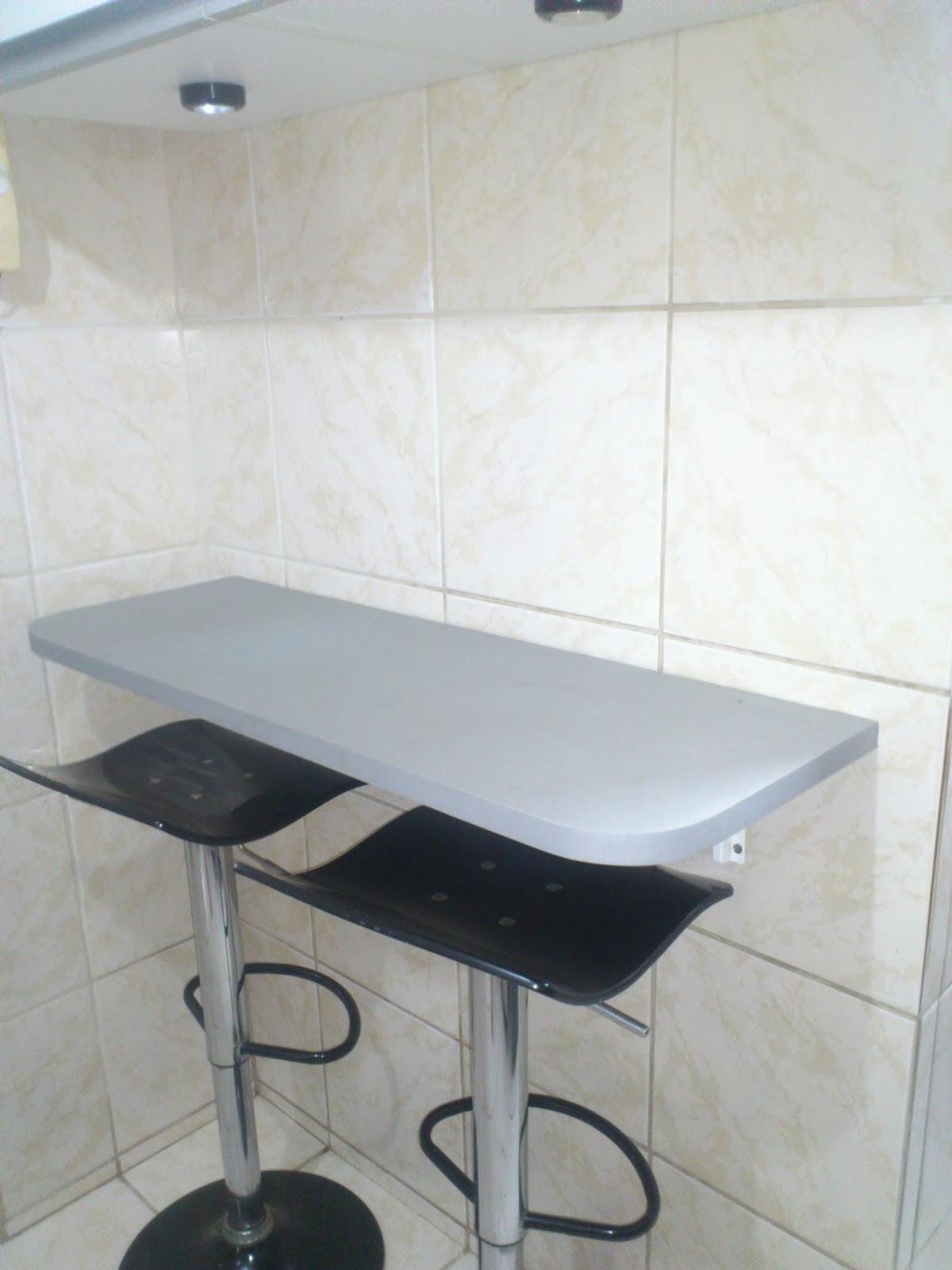 Fazendo em casa otimizando espa o em apartamento pequeno - Mesas para ordenador pequenas ...