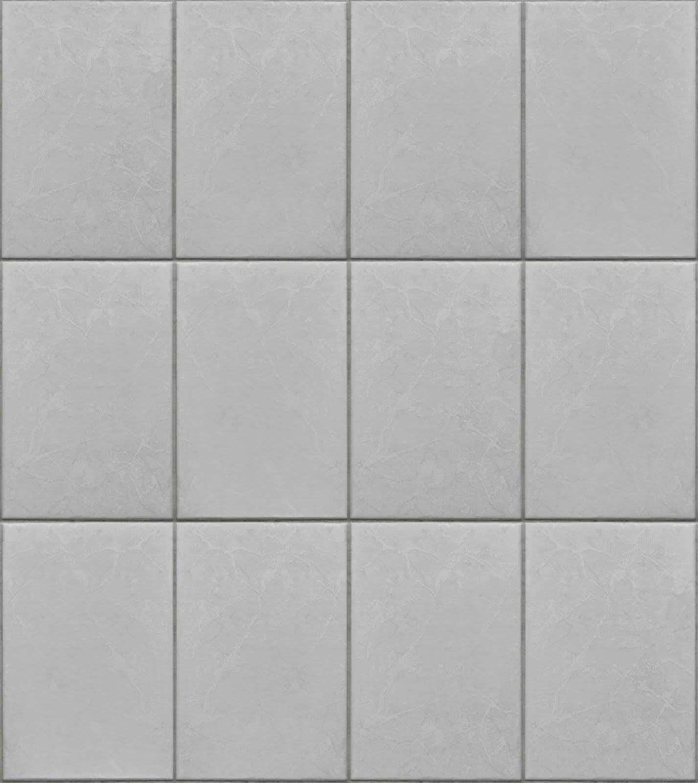 Bathroom tile floor