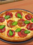 Трёхцветная пицца - Онлайн игра для девочек