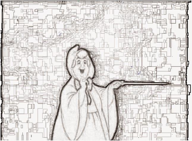 Il diario di un ragazzo comune o quasi disegni di - Fata immagine da colorare ...