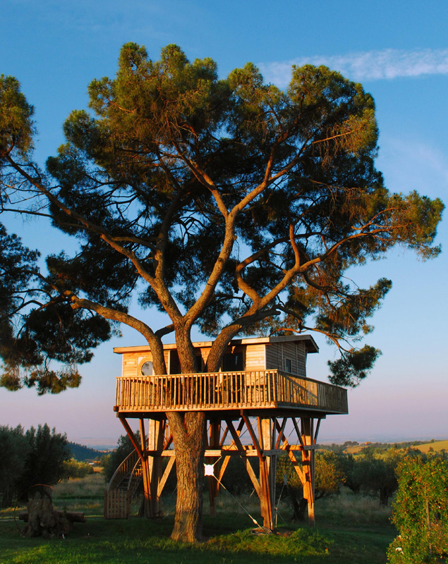 La casa sull 39 albero la piantata viterbo be green and chic - Casa sull albero minecraft ...
