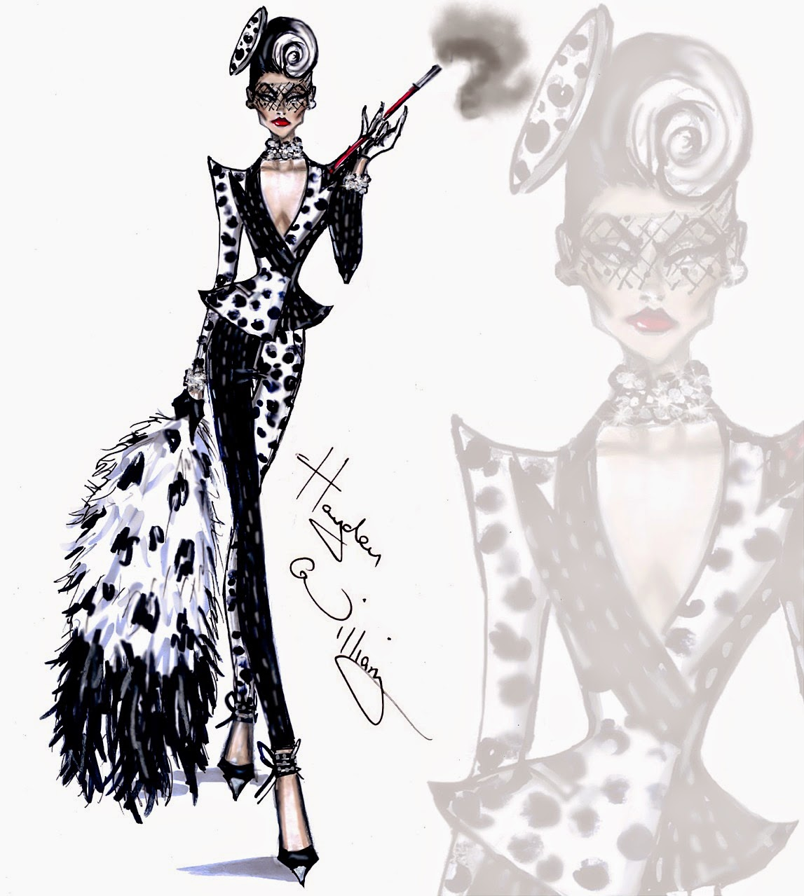 Cruella de vil fashion 82