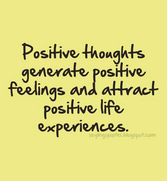 Positive Thoughts Generate Positive Feelings Nineimages