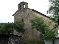 Façana de ponent de Sant Esteve de Valldoriola