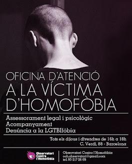 ATENCIÓ VÍCTIMA HOMOFÒBIA