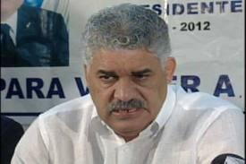 MVM no va a reunión PRD-PLD para tratar crisis JCE