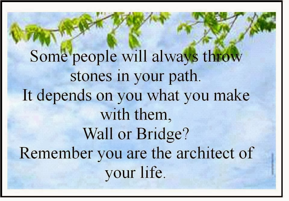 quotes inspiration some people will always throw stones