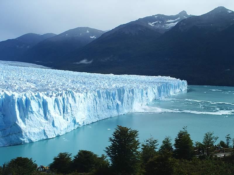 Gran Glaciar Perito Moreno, en la ciudad de Calafate, Provinca de Santa Cruz (Argentina)