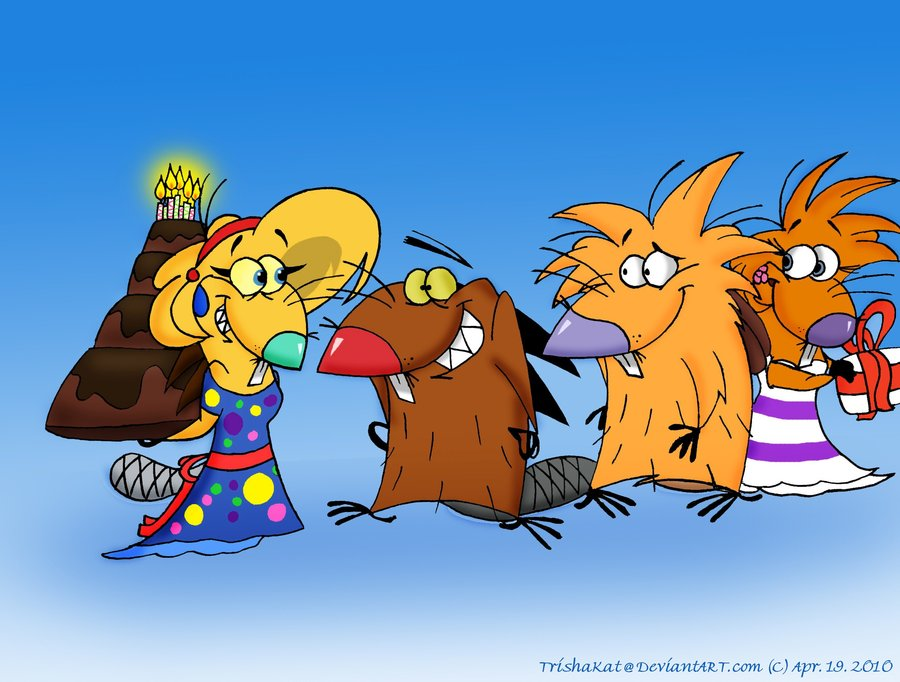 Angry Beavers Cartoon