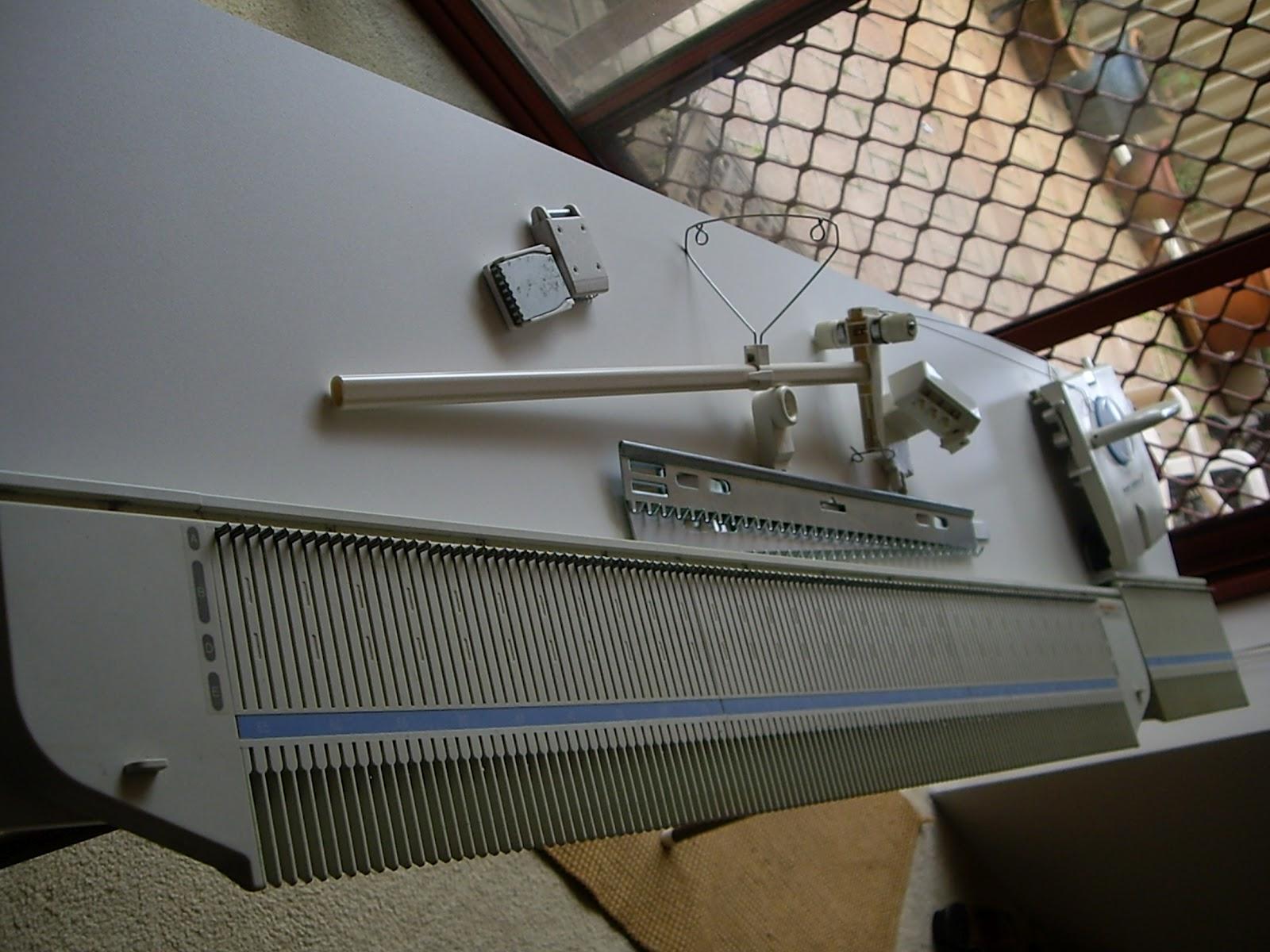 Ozlornas Knitting Blog Kx350 1 Panel 176 Needles Ready To Go