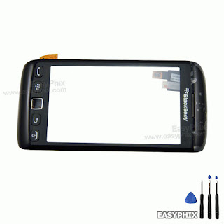 BlackBerry 9860 9850 Torch Touch Screen Digitizer Assembly with Button