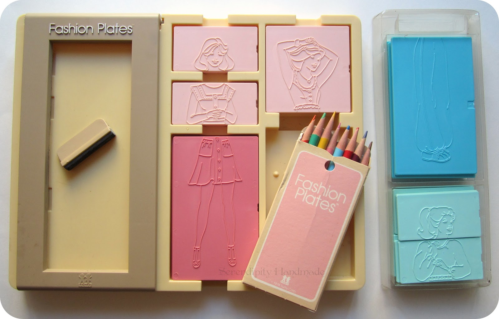 Barbie Fashion Plates Toy Fashion Plates was first