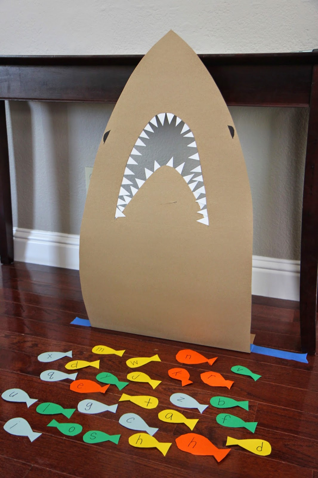 Feed The Shark Alphabet Game For Kids On Toddler Approved