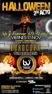 BENDITOS VIERNES 1 de Noviembre