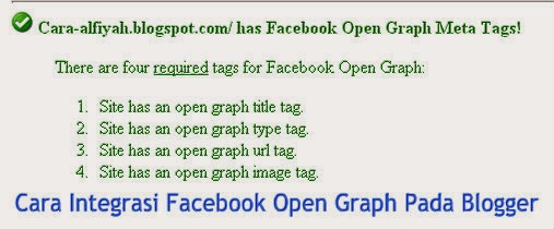 Cara Integrasi Facebook Open Graph Pada Blogger | alfiyah ...