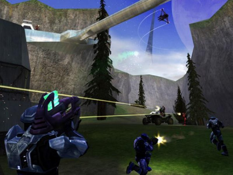 Halo Combat Evolved Game ScreenShot
