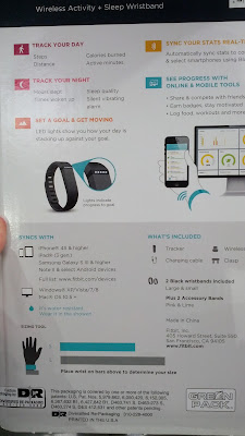The Fitbit Flex has high end technology to help you when exercising