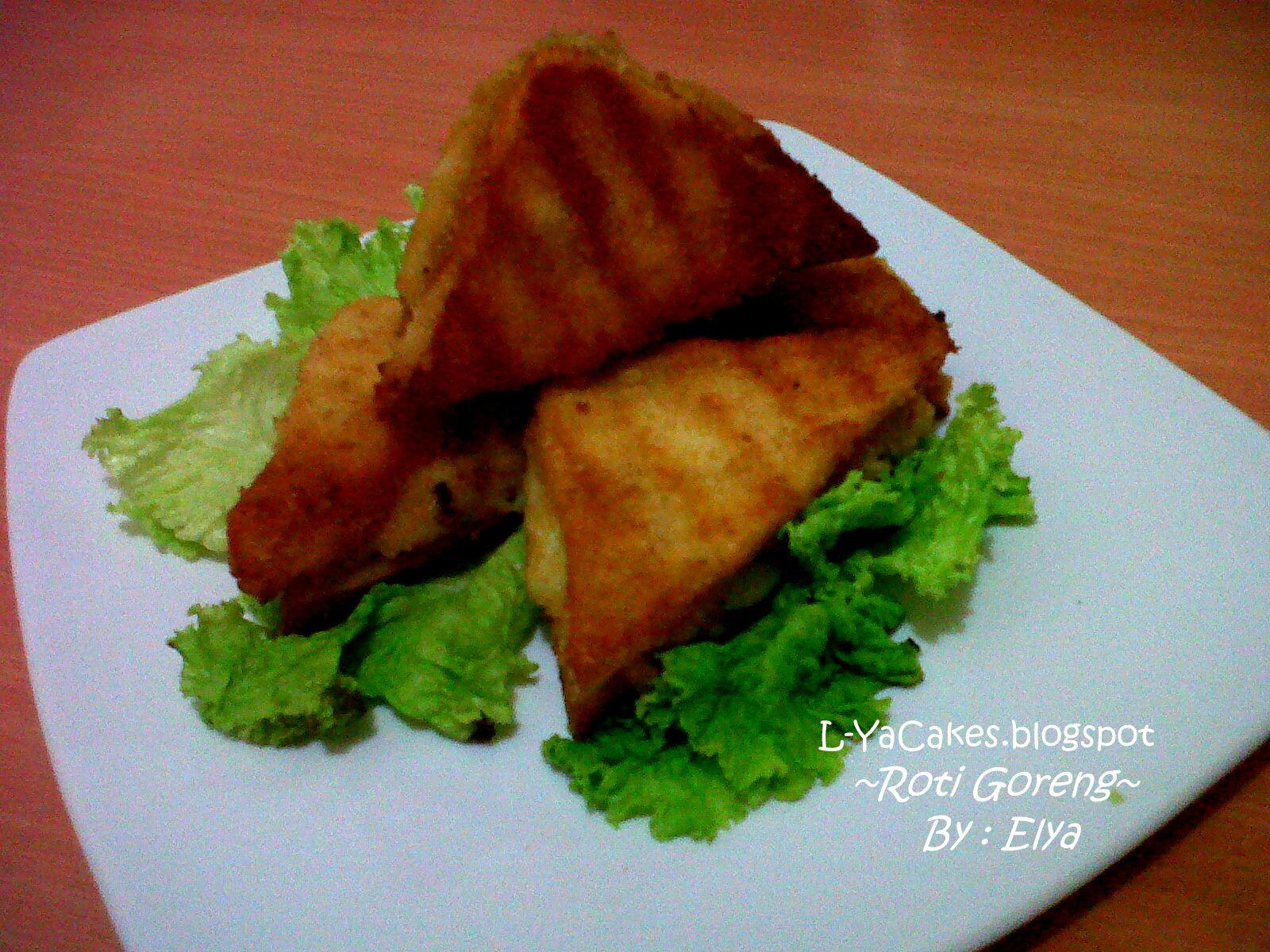 Dinning Table Roti Tawar Goreng Isi Ragout