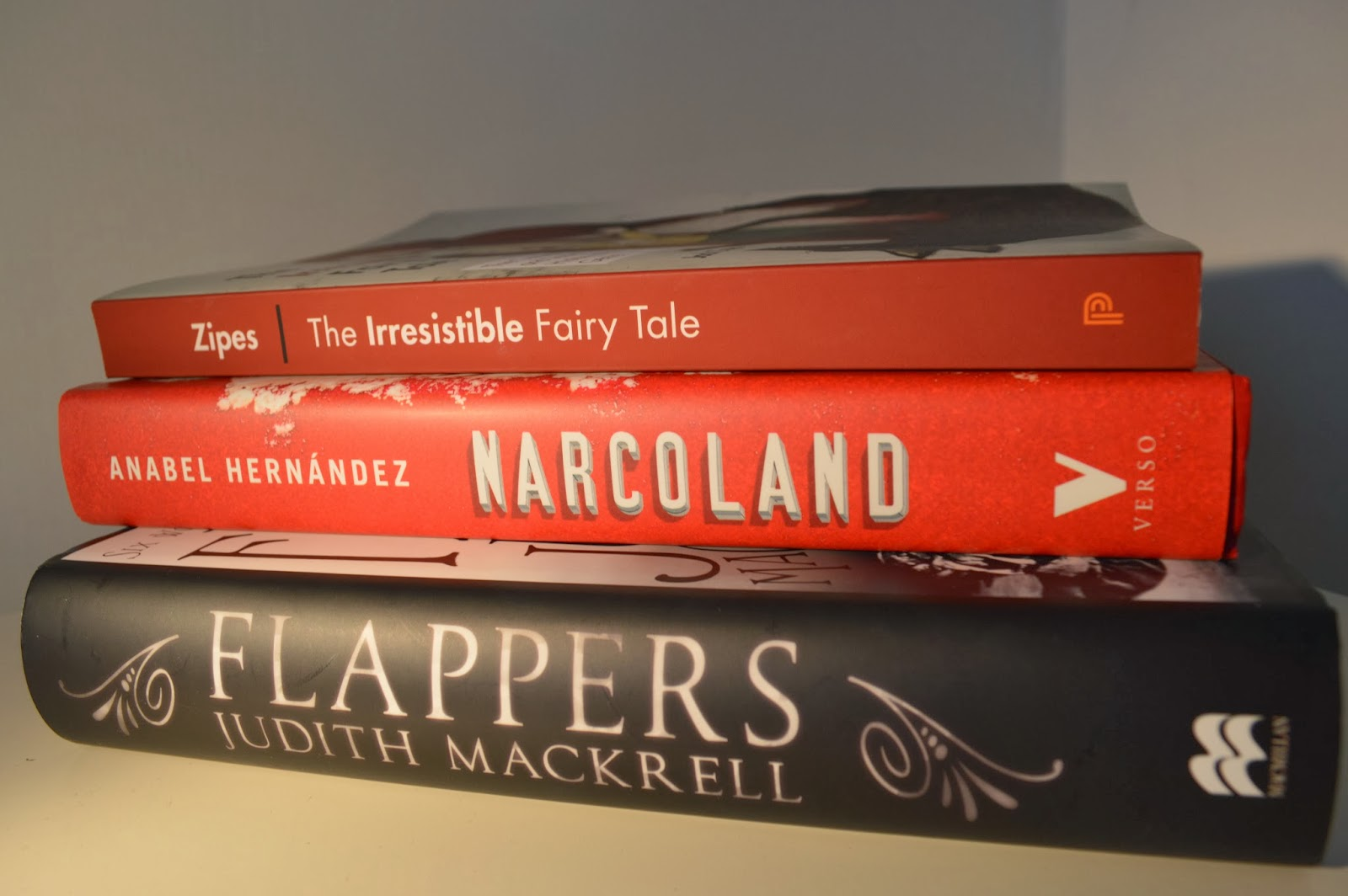 Flappers, Narcoland, The Irresistible Fairy Tale, photography, book spine