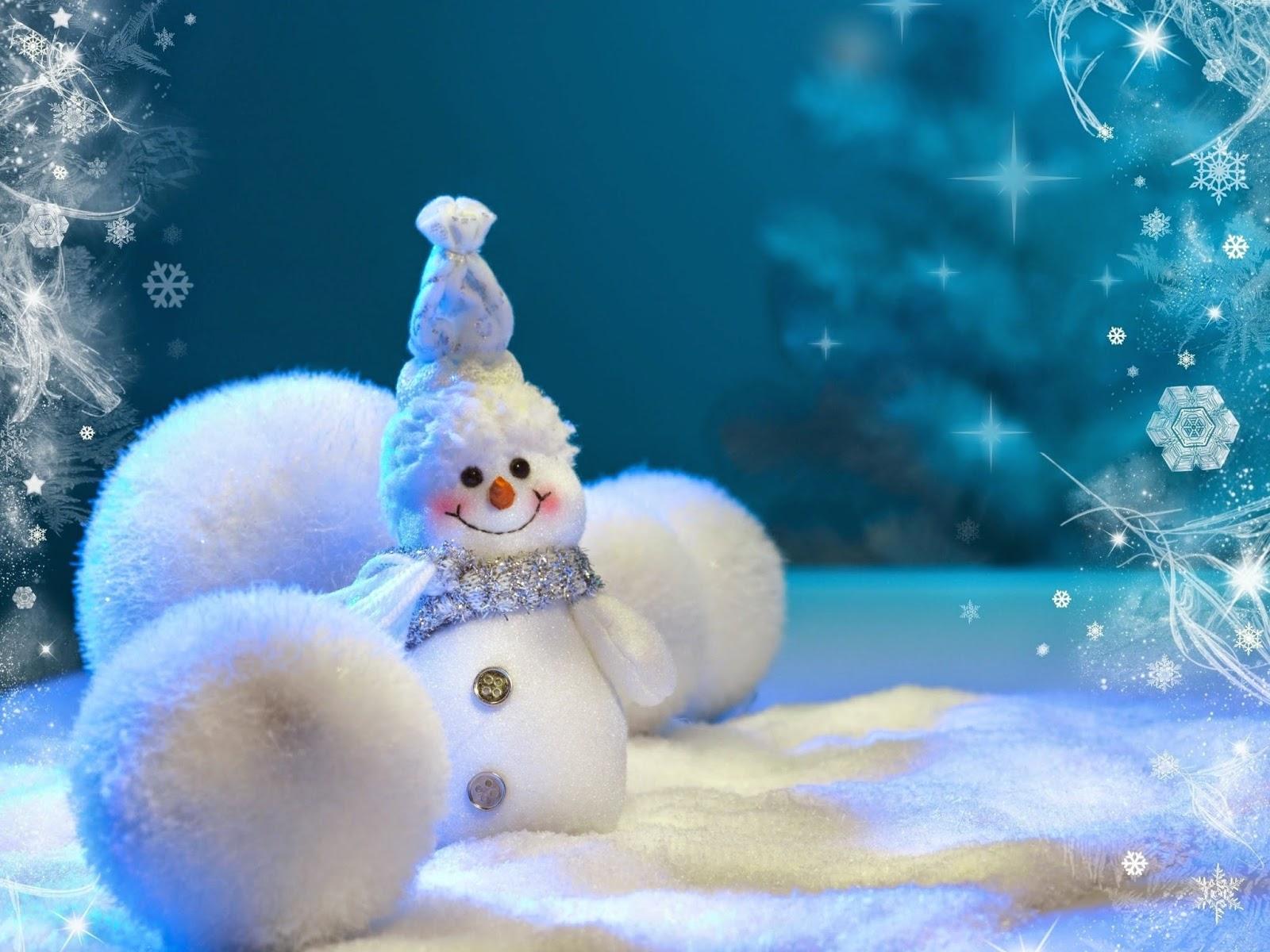 lindos muñecos en navidad