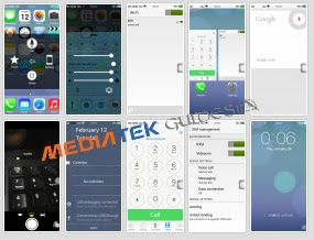 Iphone 6 Clone - iOS 7 Dual Sim Rom For MT6572