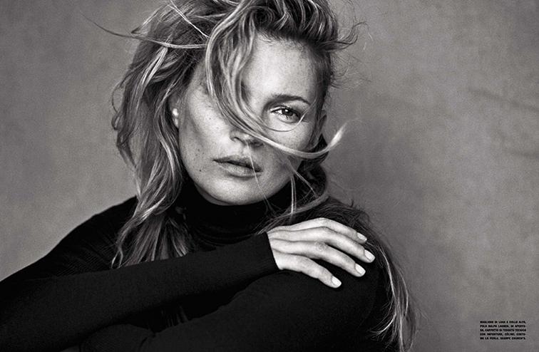 Kate Moss portrait 2015