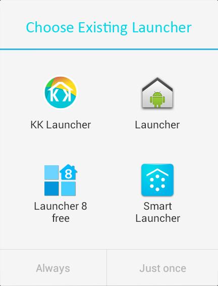 Memilih dan Mengganti Launcher di Android