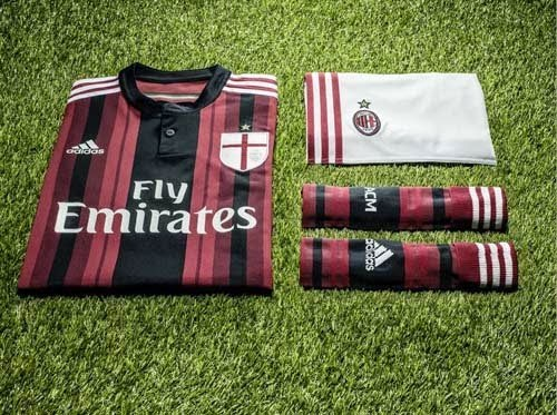 Adidas Released 2014/15 AC Milan Home kit