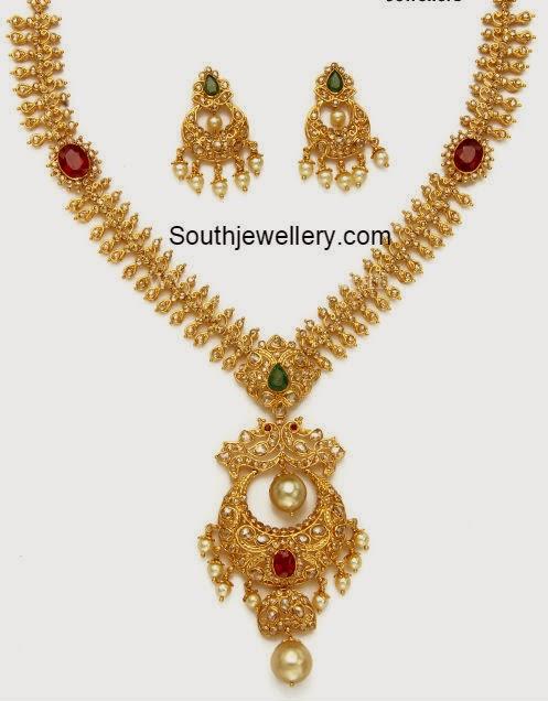 uncut necklace