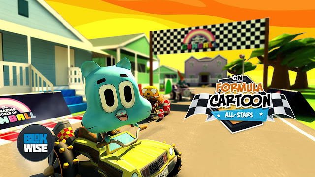Formula Cartoon All-Stars Apk v2 + Data Mod [Unlimited Gold]