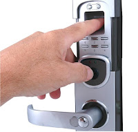 Biometric lock Portland locksmith