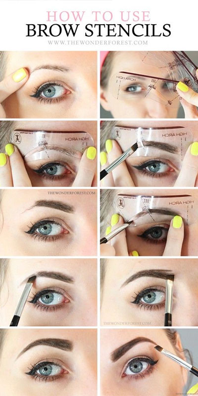 The Ultimate Brow Guide The Diary Of A Bald Girl Beauty Wallpaper