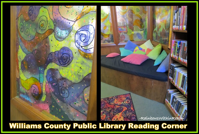 "photo of: Reading Center in Public Library Setting (receive free Mp3 of song ""Going to the Library)"
