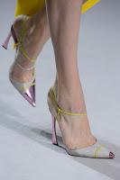 Високи обувки с метални муцунки Christian Dior