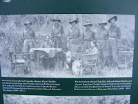 "at 10th June 1945 Australian servicemen landed on ""Green Beach"" now known as Pantai Muara"