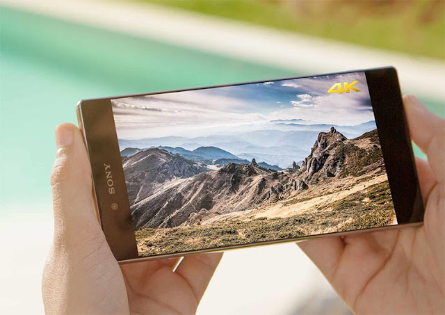 Sony Xperia Z5 Premium Resolution 4k and amazing processor